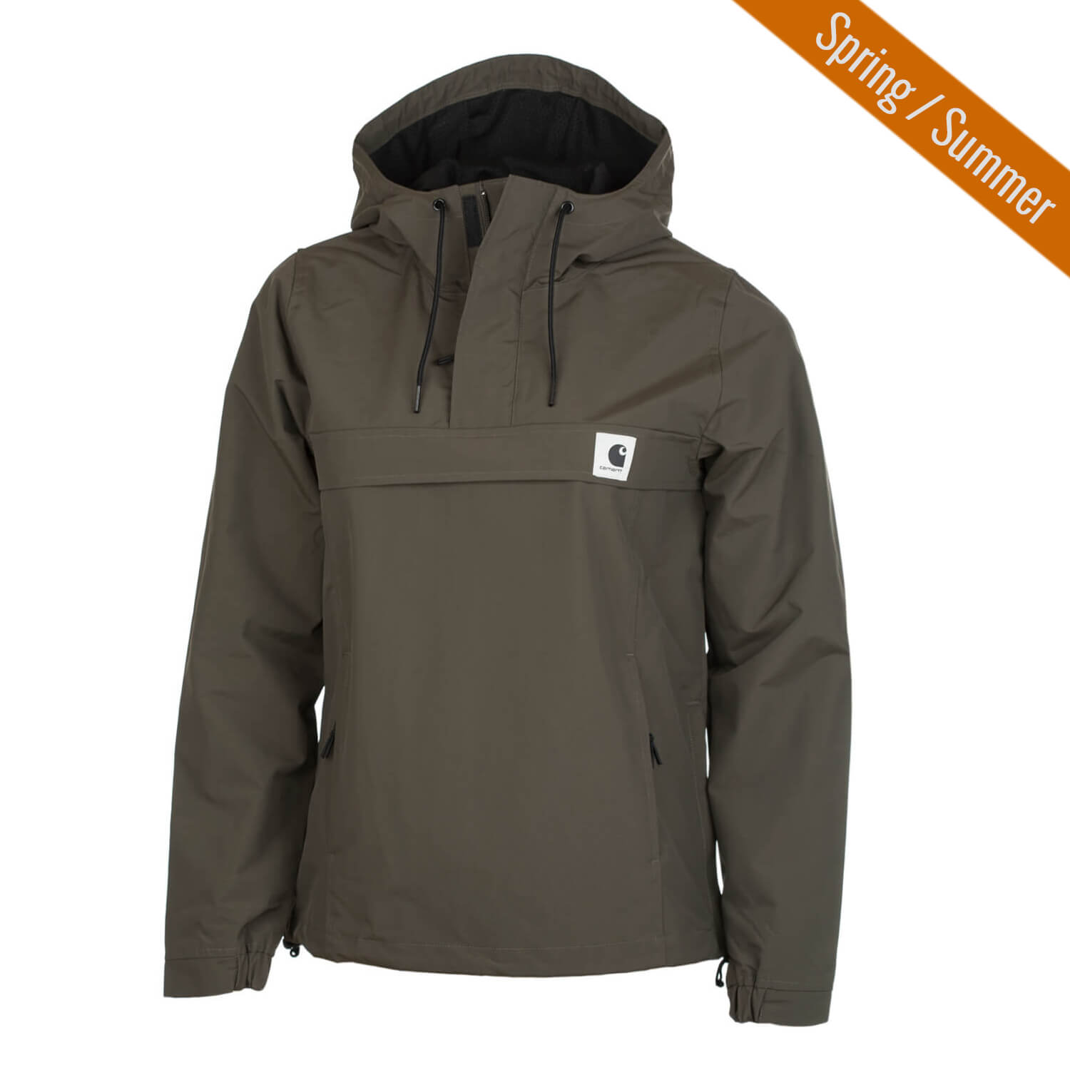 carhartt w nimbus windbreaker jacke cypress oliv damen sommer schlupfjacke drop. Black Bedroom Furniture Sets. Home Design Ideas