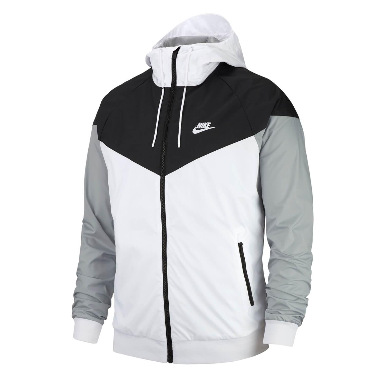 Nike jacke herren grau schwarz