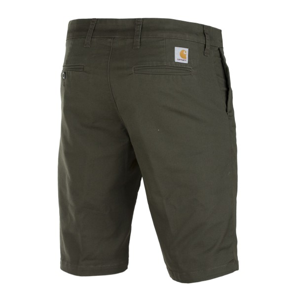 dd932585c29c Carhartt Chino Short Cypress oliv kurze Herren Chino Bermuda Shorts   DROP -IN.de