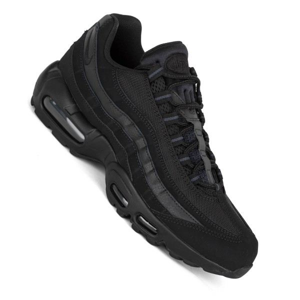 the best attitude 5e48a f9653 Nike Air Max 95 schwarz Herren Sneaker all black