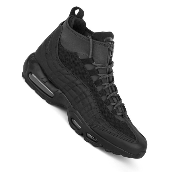 129e48d65fba3f Nike Air Max 95 Sneakerboot schwarz all black Herren Winterschuhe ...