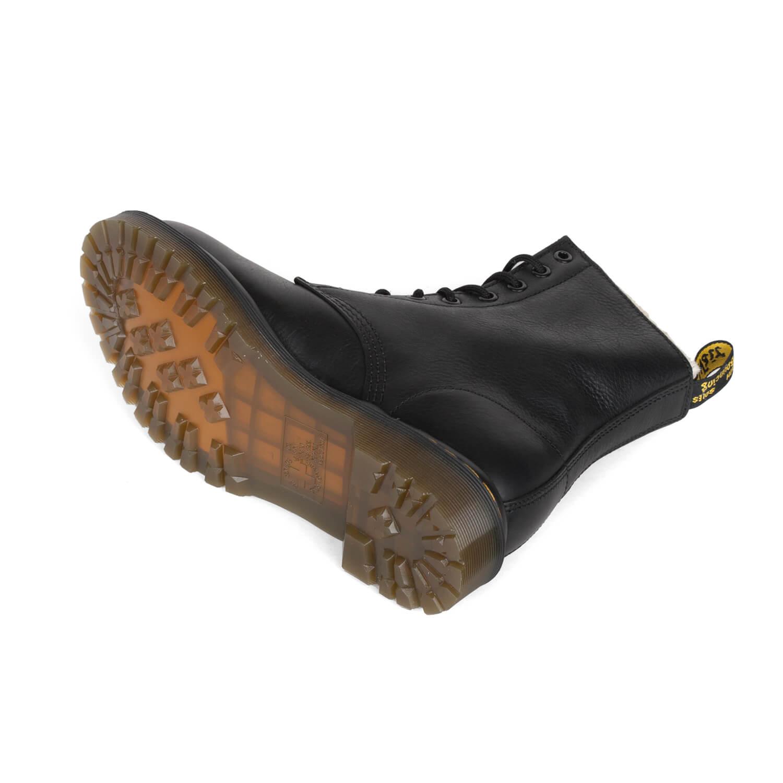 Dr. Martens Serena Boot schwarz Kunstfell Stiefel Damen