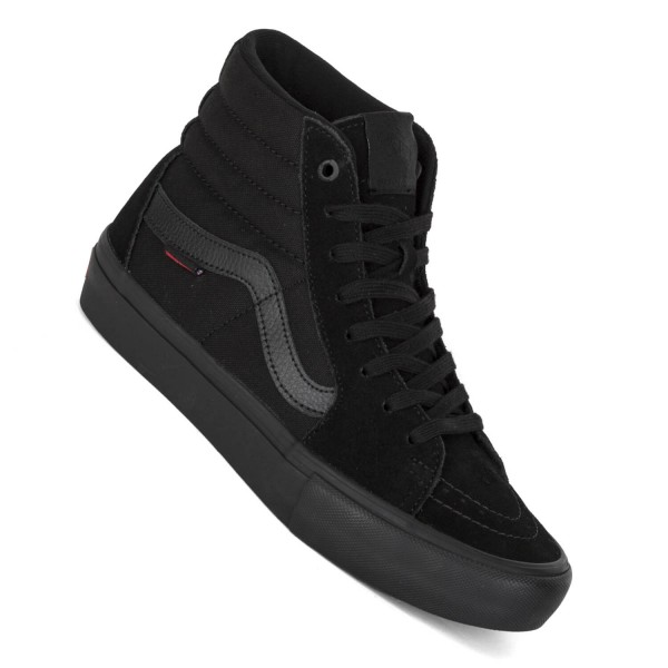 Vans Sk8-Hi Pro Skate Schuhe schwarz