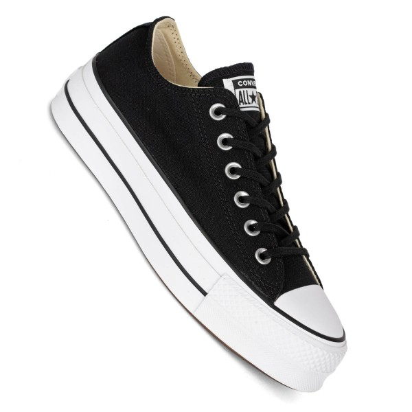 Converse Plattform CTAS Lift Ox black/white/white