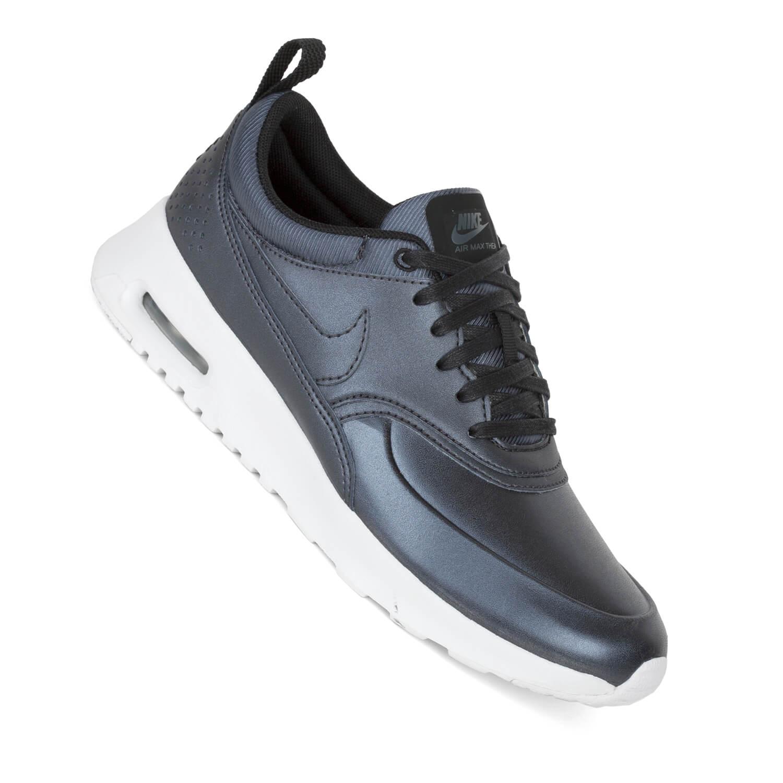 Nike Air Max Thea Lila Grau
