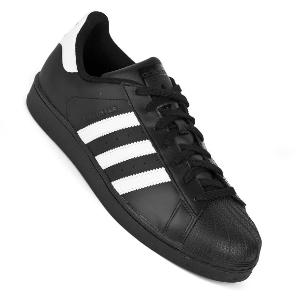 Adidas Superstar In Schwarz