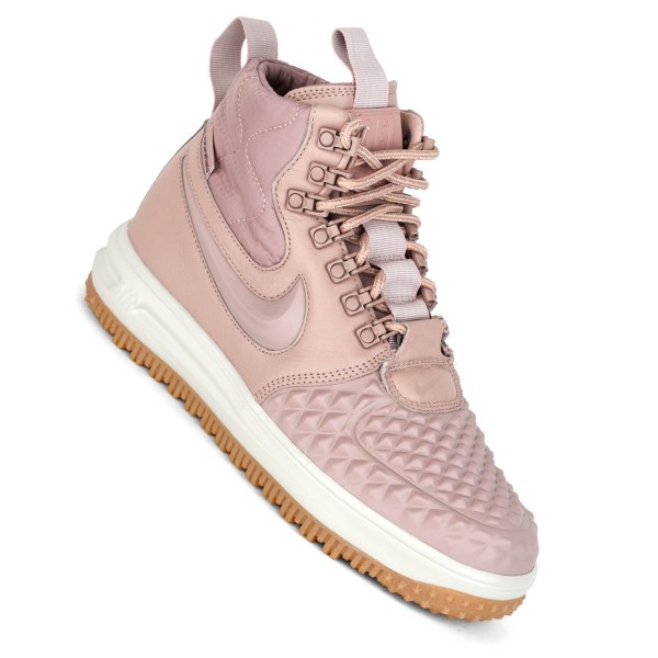new style 0b1fb edf99 Nike Lunar Force 1 Duckboot Damen particle pink rosa