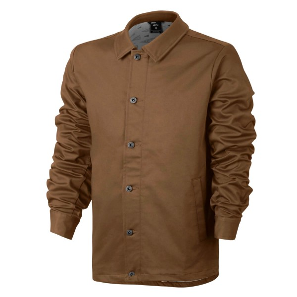 22e3c36835c35 Nike SB Flex Coaches Jacket Herren ale brown - Übergangsjacke in ...