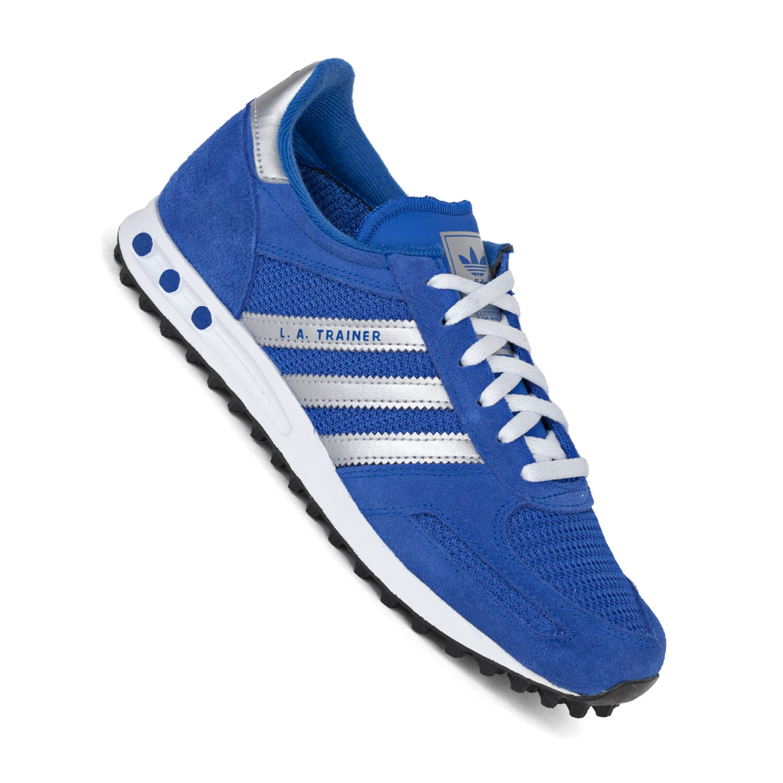 Damen Blau Adidas Trainer Blau Adidas Trainer Damen La La ED29WIH