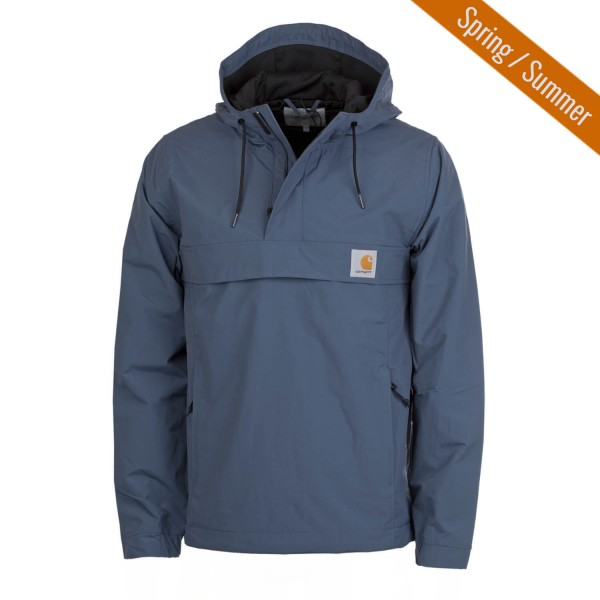 carhartt nimbus windbreaker jacke herren stone blue. Black Bedroom Furniture Sets. Home Design Ideas