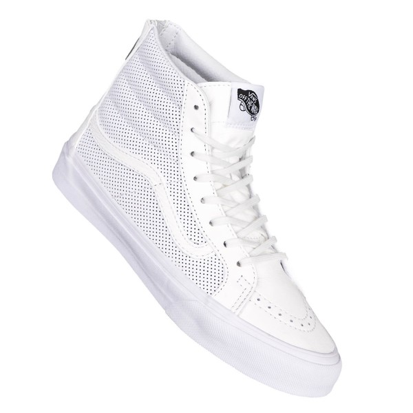 vans damen high weiß