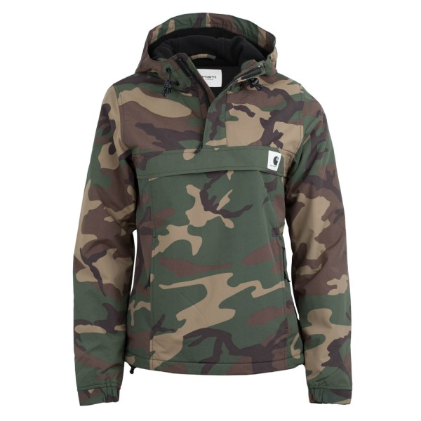 carhartt nimbus damen winterjacke camo laurel winter windbreaker jacke drop. Black Bedroom Furniture Sets. Home Design Ideas