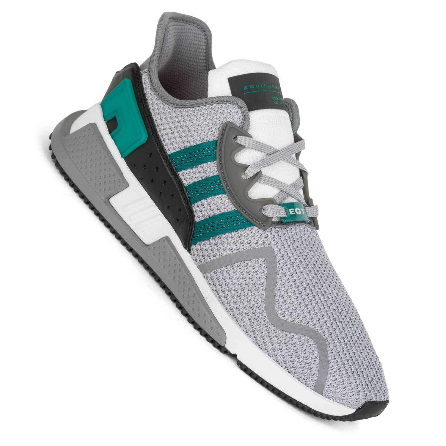 adidas eqt equipment cushion adv grey two green herren. Black Bedroom Furniture Sets. Home Design Ideas