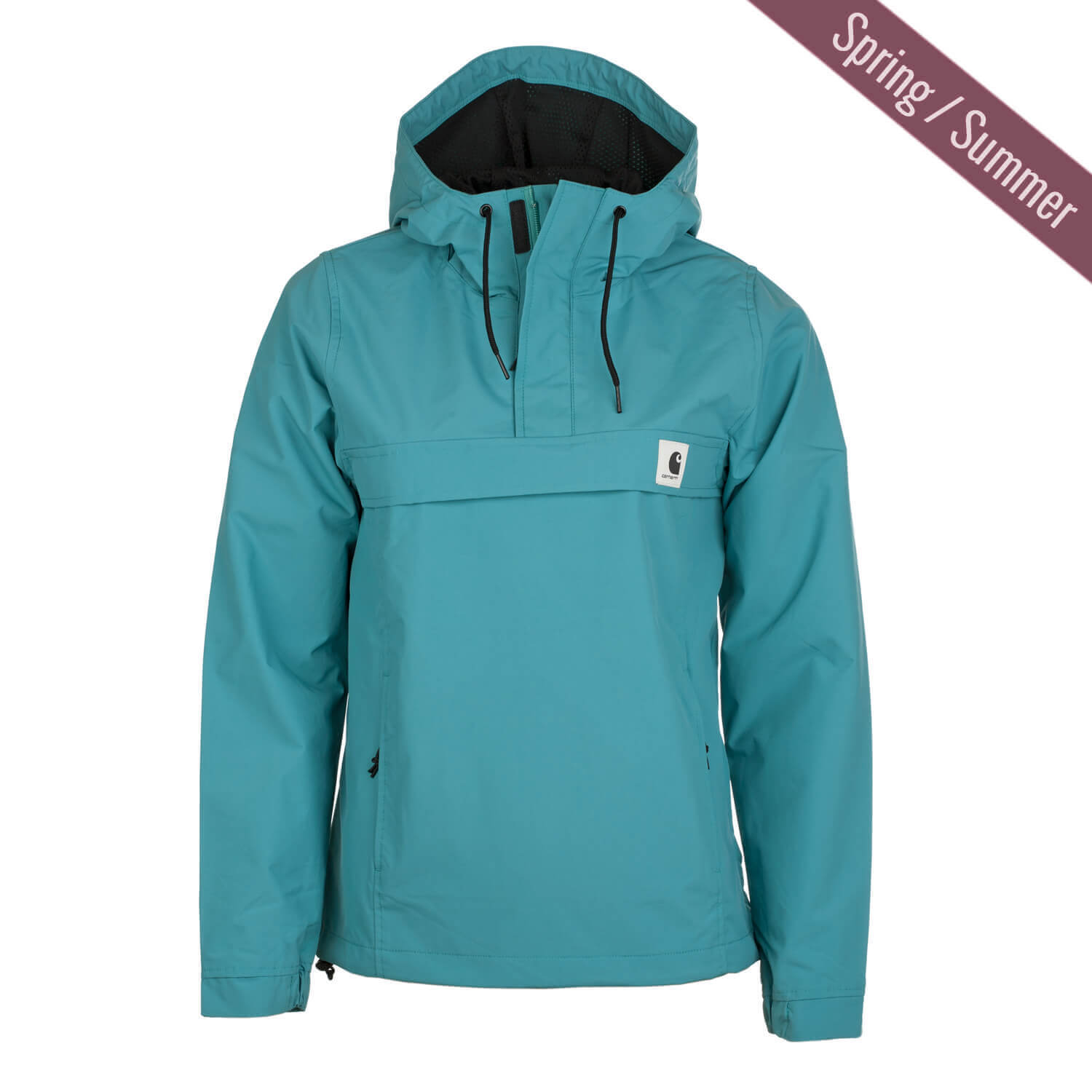 carhartt w nimbus windbreaker jacke soft teal t rkis damen sommer schlupfjacke drop. Black Bedroom Furniture Sets. Home Design Ideas