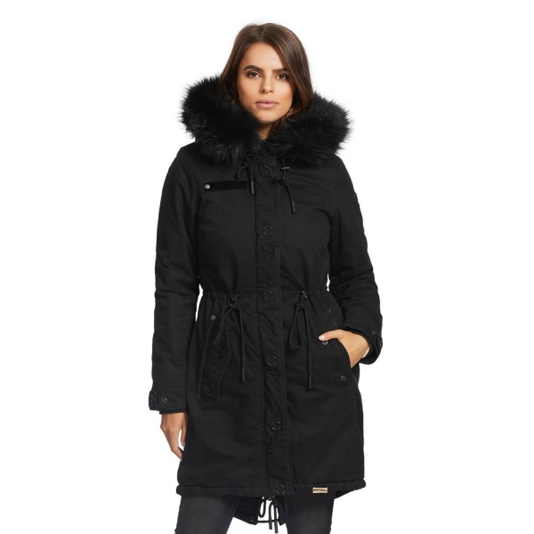 Mantel mit teddyfell