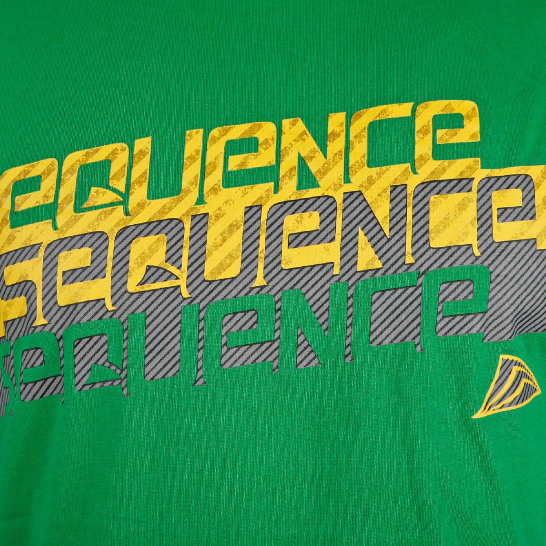 Sequence Herren T-Shirt weiß mit Surf Motiv
