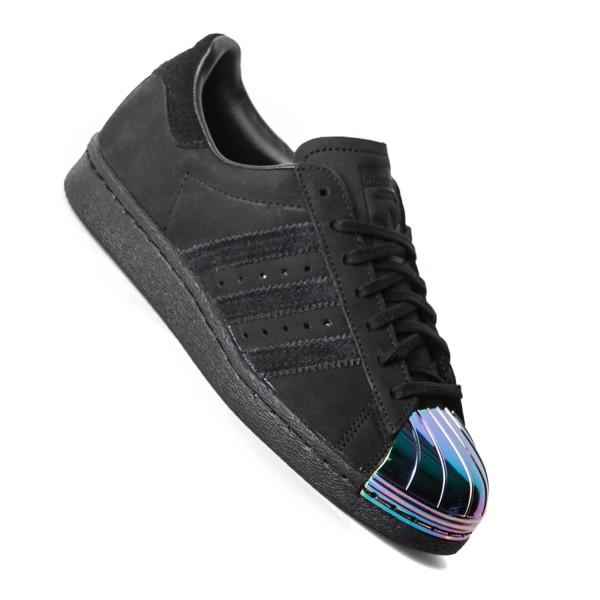 adidas superstar schwarz metallic