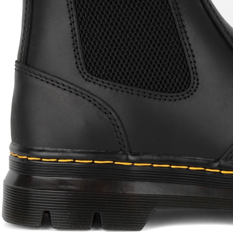 Dr Martens Embury Chelsea Boots Herren Stiefelette schwarz black wyoming