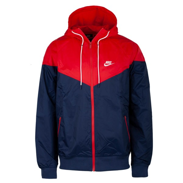 Nike Windrunner Jacke Herren Windbreaker Jacket navyred