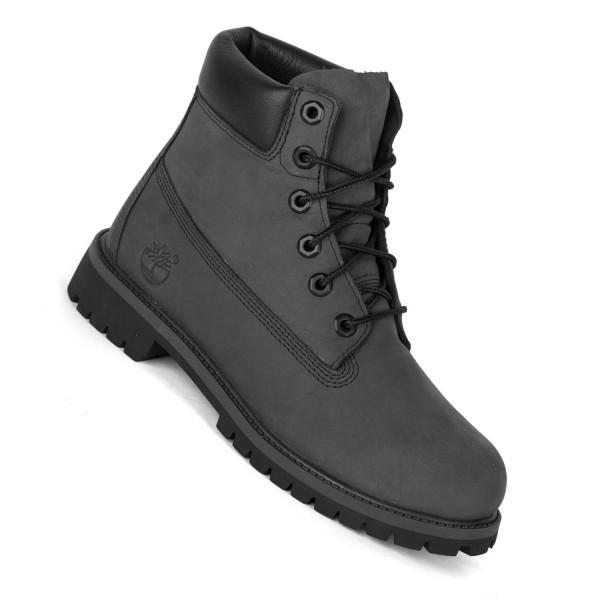 65ccebe9ca1b84 Timberland 6 Inch Premium Boot forged iron grau - Winterstiefel für ...