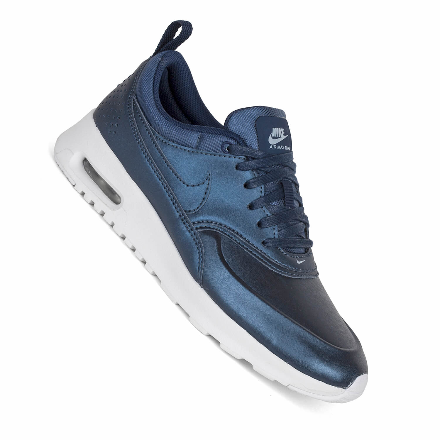 nike air max thea se metalic armory navy damen sneaker. Black Bedroom Furniture Sets. Home Design Ideas