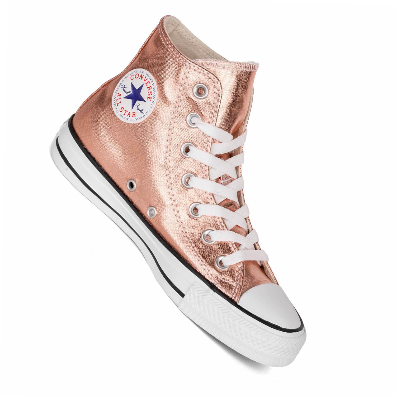 converse sneaker metallic