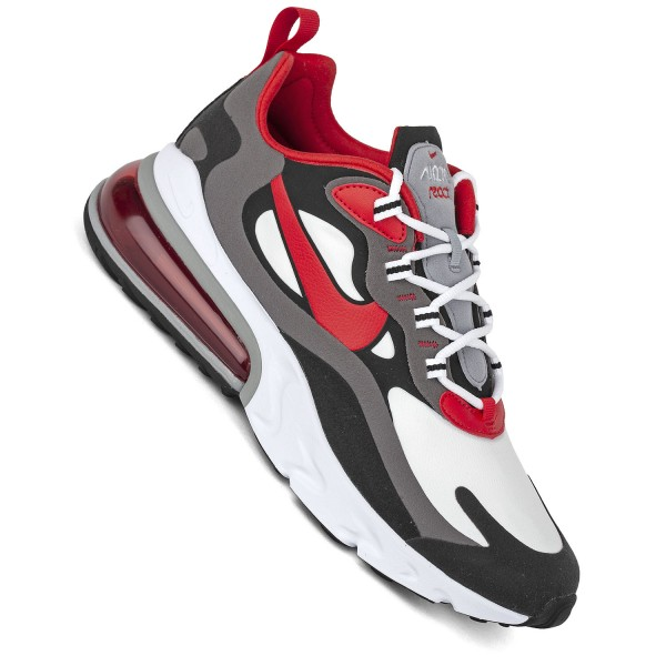 Nike Air Max 270 React weiß schwarz rot Herren Sneaker