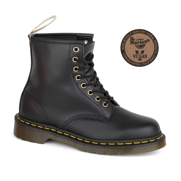 a55f62b6ab123f Dr. Martens Vegan 1460 Damen Stiefel schwarz Doc Martens Boots black ...