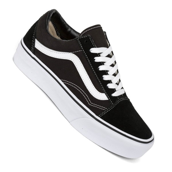 vans old skool hohe sohle damen