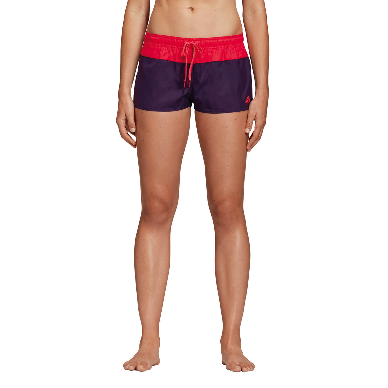 Adidas BW 3 Stripe Beach//Swim Short Damen black//white
