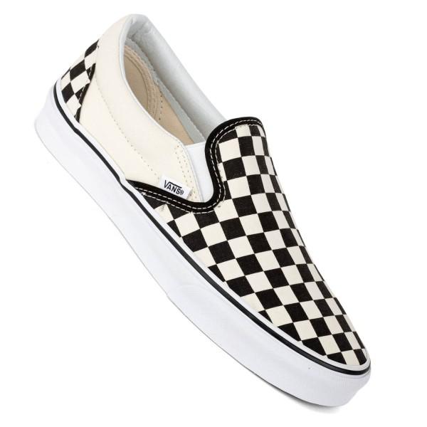 Vans Slip On black white checkerboard schwarz weiß