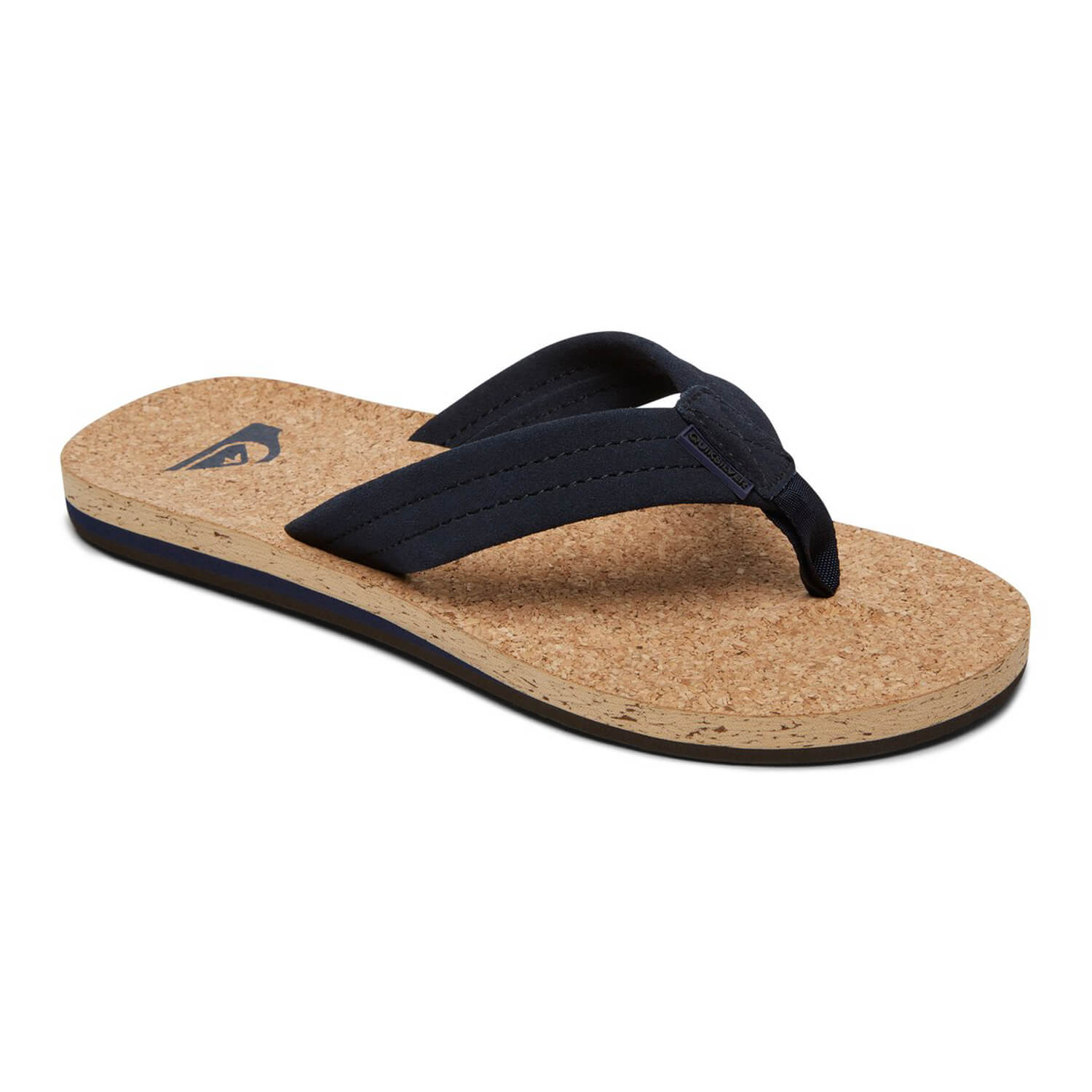 quiksilver carver cork flip flops herren sandalen mit kork fu bett drop. Black Bedroom Furniture Sets. Home Design Ideas
