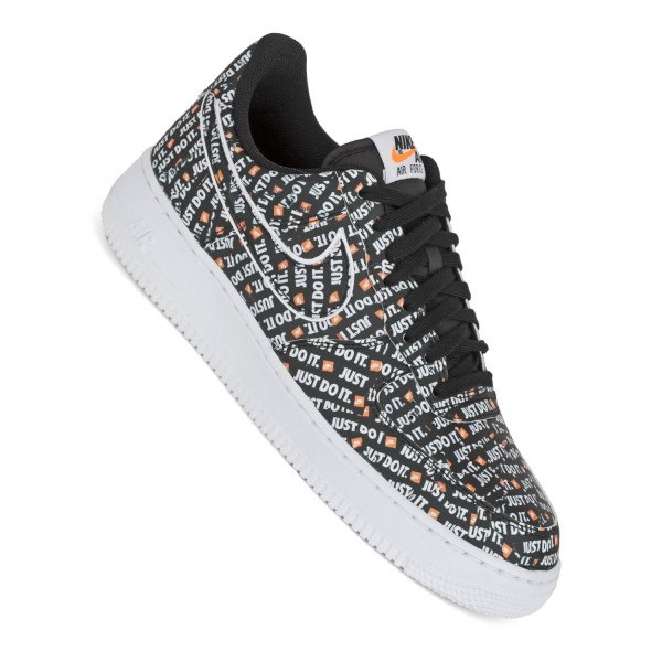 0ab376f06 Nike Air Force 1 07 LV8 JDI black black Herren Sneaker Just-Do-It ...