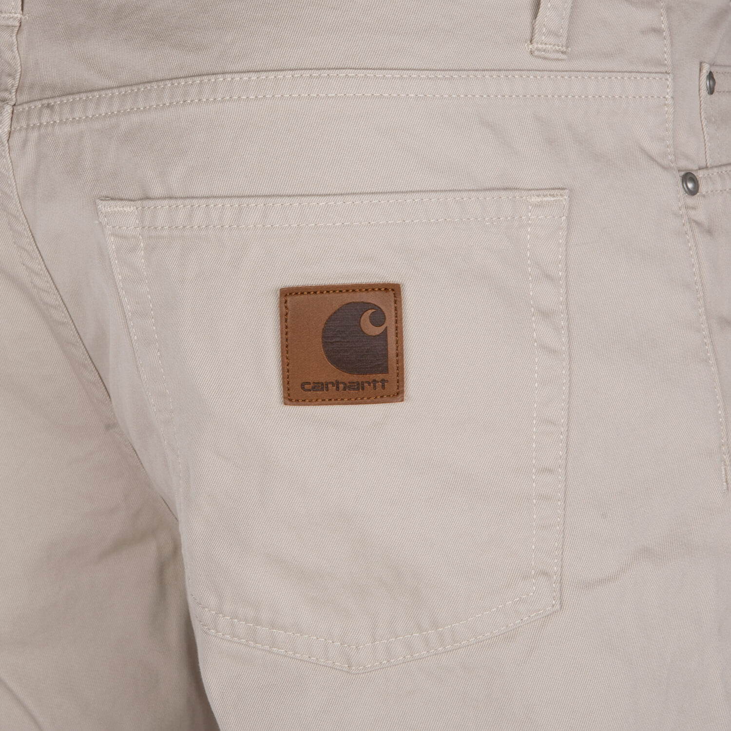 5 Pocket Shorts Carhartt WIP Davies Short Herren Bermuda wheat beige