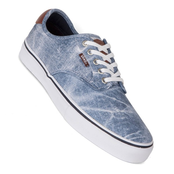 Details about New Vans Old Skool Skate Shoe Acid Denim Washed Womens