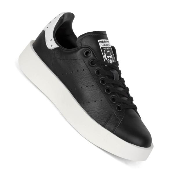 3a10a94dff9853 Adidas Stan Smith Bold black white - Damen Schuhe mit Plateau Sohle ...