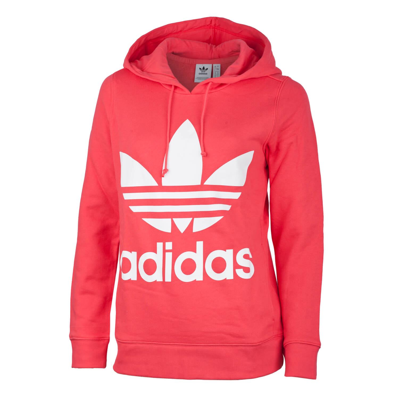 Hoodie Trefoil Damen core pink Adidas DYWE9IeH2