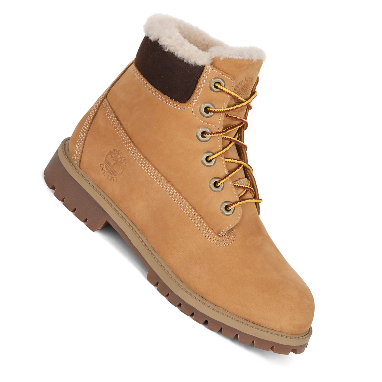 best place factory price reasonable price Timberland Kinderstiefel mit Fell WP Sherling Boot wheat